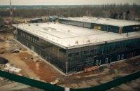 Как строят терминал в аэропорту Запорожье (ВИДЕО)