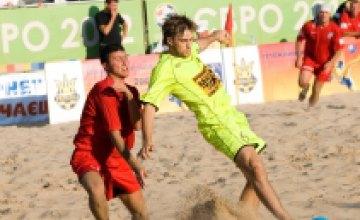 29 мая днепропетровская команда «Выбор» стартует в Чемпионате Украины по пляжному футболу