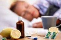 За минувшую неделю гриппом и ОРВИ заболели более 195 тыс. украинцев