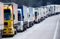 В Днепропетровской области ввели запрет на движение большегрузного транспорта