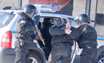 Бойцы спецназа «Титан» провели задержание вооруженного преступника в Днепропетровске (ФОТО)