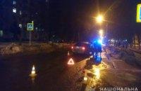 В Харькове произошло ДТП: пострадал пешеход