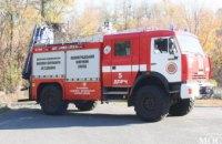 Противопожарное оснащение ПХЗ: предприятие обеспечено самыми новыми пожарными машинами, аналогов которым нет в Украине