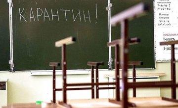 В Днепропетровской области на карантин закрыли 556 школ