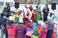 В Днепре завершился праздничный проект «Новогодний караван» (ФОТО)