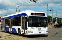 Завтра два троллейбусных рейса Днепропетровска изменят маршруты курсирования
