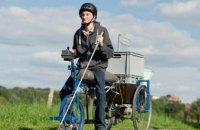 В Германии изобрели велосипед для слепых (ФОТО)