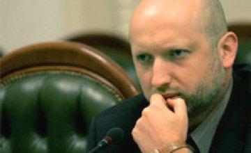 Турчинов объявил о начале антитеррористической операции на севере Донецкой области