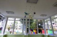Під час воркшопу дніпровські митці дизайнерські оформили дитячий садок