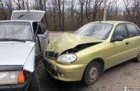ДТП в Кривом Роге: столкнулись две легковушки (ФОТО)