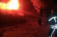 Ночью в Днепропетровской области сгорели два сарая