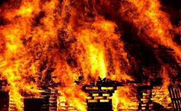 В Днепре на пр. Яворницкого сгорел обувной магазин