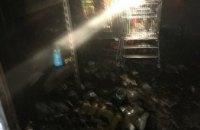 В Кривом Роге произошел масштабный пожар в крупном сетевом супермаркете (ФОТО)