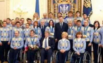 Днепропетровские паралимпийцы завоевали 5 медалей на Чемпионате мира