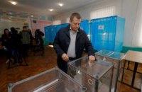 Борис Филатов проголосовал на выборах президента Украины