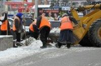 В Днепропетровской области на предупреждение подтоплений во время оттепели из населенных пунктов вывезено более 6 тыс куб м снег