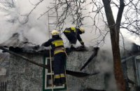В Днепре пожарные ликвидировали возгорание хозяйственной постройки