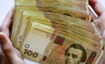В Днепропетровской области налоговой долг составляет около 2 млрд грн