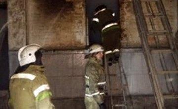 Рукописи горят: в Днепропетровской области более 2 часов тушили школьную библиотеку