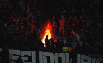 Днепровские фанаты «отомстили» «Металлисту»