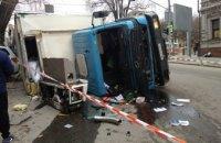 Стали известны подробности ДТП с участием грузовика в центре Днепра (ФОТО)