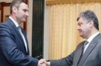 Президент поручил Виталию Кличко восстановить Киев