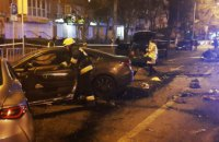 Масштабное ДТП в Днепре: столкнулись пять авто, есть погибшие (ФОТО)