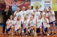 Дніпровські баскетболістки перемогли у Всеукраїнській юнацькій лізі серед дівочих команд