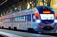 Скоростной поезд из Киева в Запорожье осуществит дополнительные рейсы в преддверии и во время праздничных выходных в марте