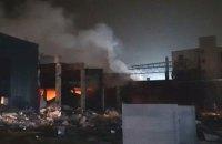 Последствия взрыва на территории завода «Потоки» не несут опасности для горожан, - ГСЧС