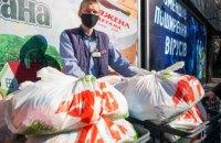 Корпорация «АТБ» передала социально незащищённым жителям Днепра и области свыше 31,5 тыс. бесплатных проднаборов (ФОТО)