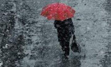 Сегодня в Днепропетровске и области тепло и снежно