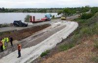 На Днепропетровщине планируют реконструкцию моста через реку Чертомлык