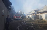 На Закарпатье произошел пожар на территории женского монастыря (ФОТО)