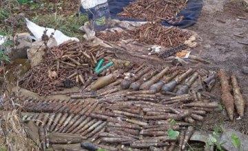 В Донецкой области обнаружили схрон боевиков (ФОТО)