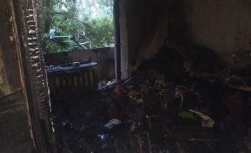 В Днепропетровской области на пожаре в многоэтажном доме погиб 14-летний мальчик с инвалидностью