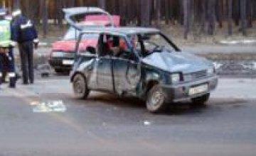 В Кривом Роге в результате ДТП травмировано 7 человек