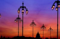 В Днепропетровске восстановлено внешнее освещение на 30 улицах