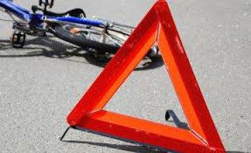 В Днепре скутер сбил подростка на велосипеде