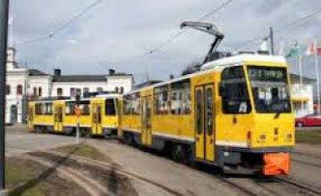 15 октября  некоторые трамваи в Днепре изменят свои маршруты