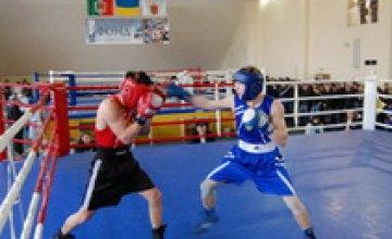 В Днепропетровске проходят финальные поединки студенческого чемпионата по боксу