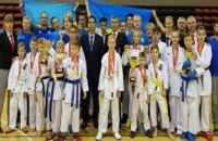 Каратисты из Днепропетровщины завоевали более 20 медалей на мировом чемпионате
