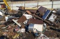 В Днепре мужчина организовал в частном доме пункт незаконного приёма металлолома
