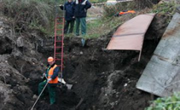 В Днепропетровске за 1,5 млн грн укрепят Рыбальскую балку
