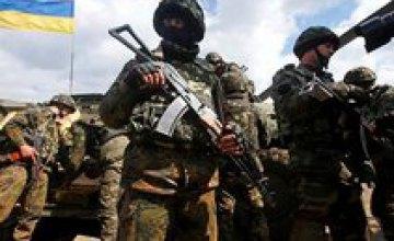 Сутки в зоне АТО прошли без потерь среди украинских военных