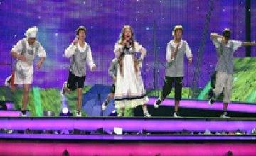 Украина заняла 2-е место на детском конкурсе «Евровидение - 2008»
