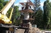 В Чернигове памятник Богдану Хмельницкому развернули спиной к Москве (ФОТО)