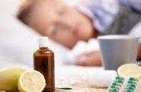 За минувшую неделю гриппом и ОРВИ заболели  более 164 тыс. украинцев