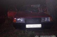 На Днепропетровщине двое парней угнали автомобиль и разбили его (ФОТО)