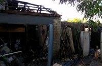 В Криворожском районе спасатели ликвидировали пожар в хозяйственной постройке